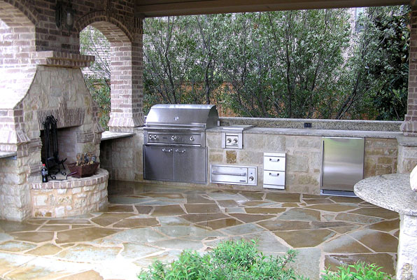 Outdoor kitchens - Suburban Oasis creating the ultimate ...